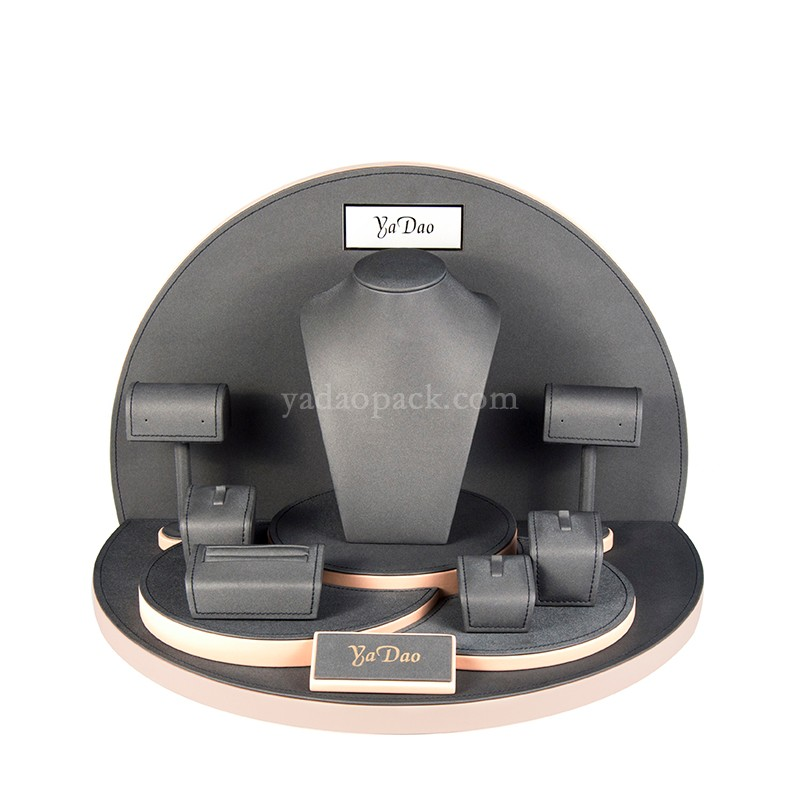 leatherette/microfiber/velvet displays 09  (No:DJ0001-PL)
